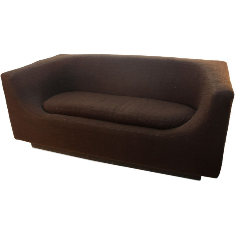 ItalianBrownLoveSeat
