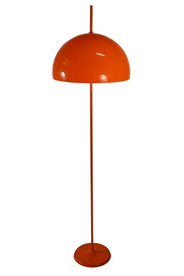 Floor lamps barbarella home barbarella home orange floor lamp 1 aloadofball