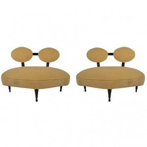 Pair Art Deco Chairs