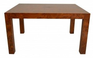 Milo Baughman for Thayer Coggin Burl Coffee Table