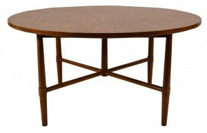 Architectural Round John Stuart Coffe/Occasional Table