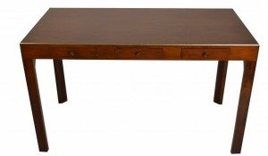 Parsons Style Writing Desk Table Marked John Stuart