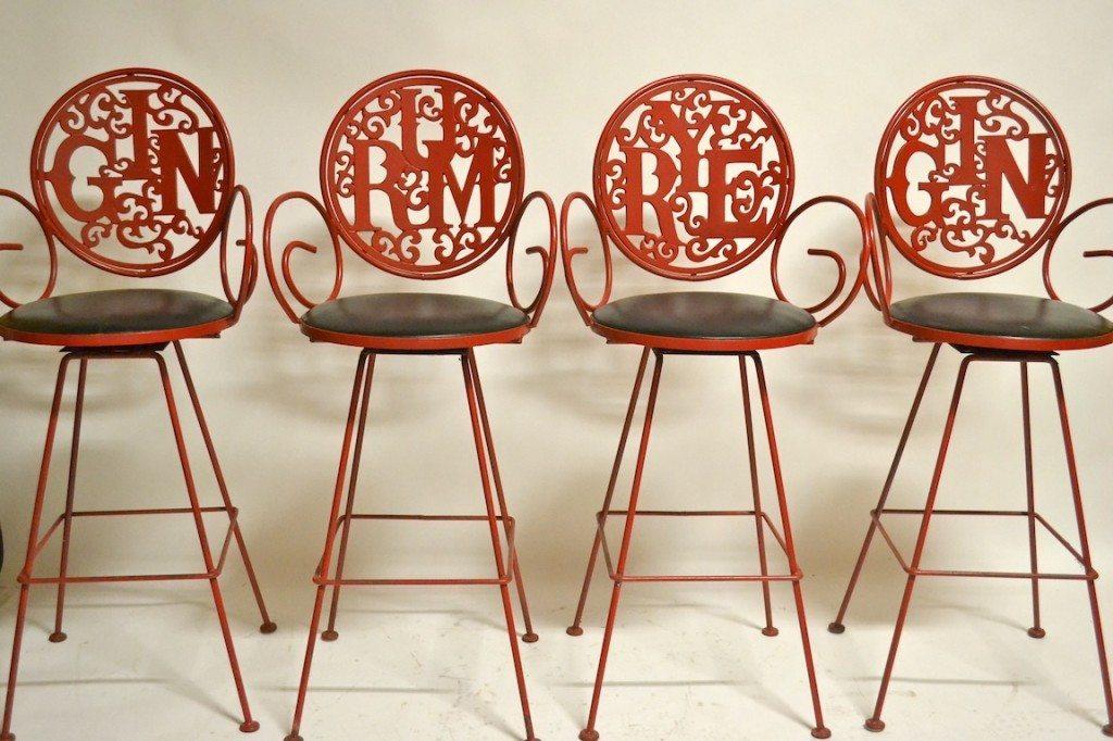 stools - barbarella home : barbarella home 1970s Bar Stools